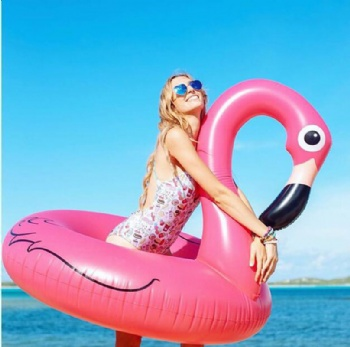 giant pink flamingo pool float hot sale