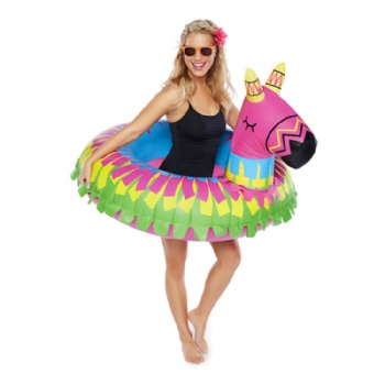 giant inflatable party pinata swim ring pool float