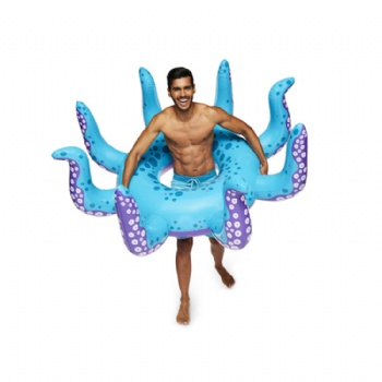 Giant inflatable Octopus swimming ring pool float