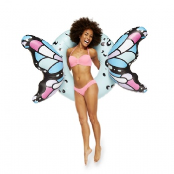 inflatable butterfly wings swim ring pool float