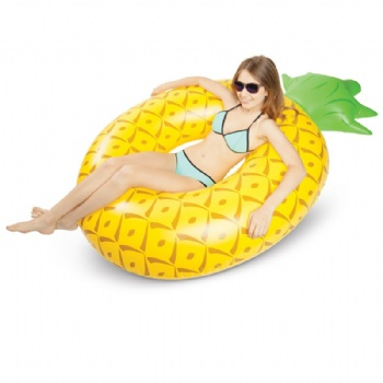Life Seat Adult Pineapple 120cm Swim Ring Inflatable Swimming Ring Thicken Lifebuoy Underarm Circle