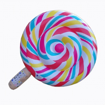 PVC Inflatable lolipop candy pool float
